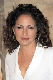 Gloria Estefan wore bouncy curls at an event in Milan.