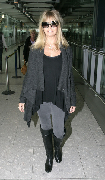 Goldie Hawn Knee High Boots