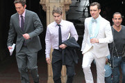 Ed Westwick and Chace Crawford Photo