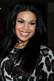 Jordin Sparks wore a shimmery berry-colored lip gloss at her birthday celebration.