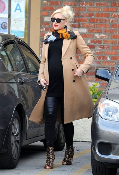 Gwen Stefani Wool Coat