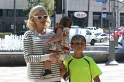 Gwen Stefani and Kingston Rossdale Photo