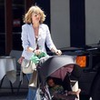 Heidi Klum Takes Lou for a Stroll