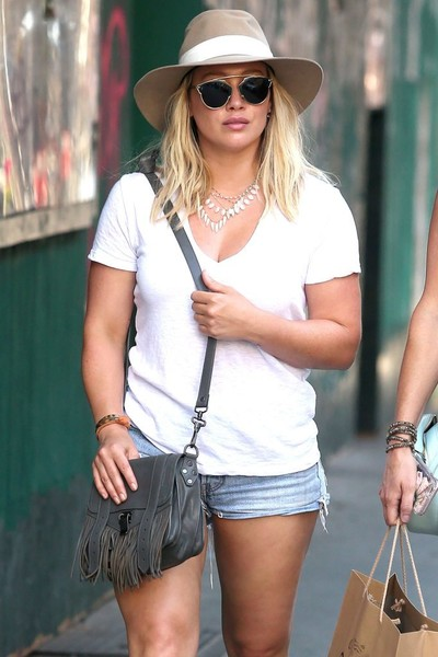 Hilary Duff Jean Shorts
