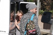 Hilary Duff and Mike Comrie Photo