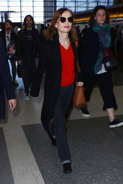 More Pics of Isabelle Huppert Cateye Sunglasses (1 of 8) - Isabelle Huppert Lookbook - StyleBistro