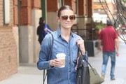Jaime King Denim Shirt