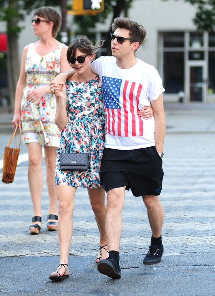 Keira Knightley Cozies Up to Fiance James Righton on Walk