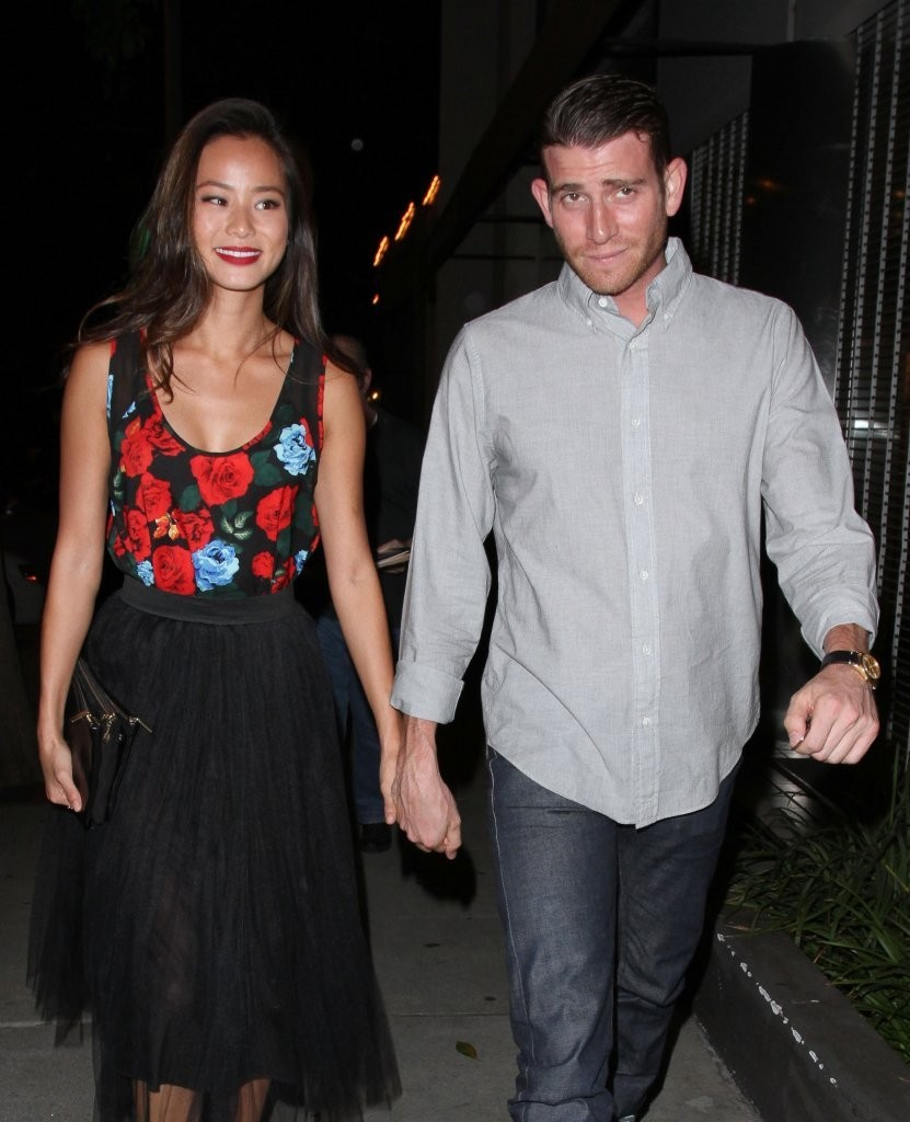 Jamie Chung and Her Boyfriend Grab Dinner