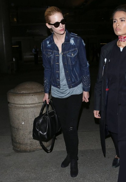 More Pics of January Jones Denim Jacket (3 of 15) - January Jones Lookbook - StyleBistro