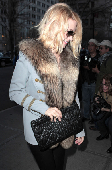 January Jones Quilted Clutch []