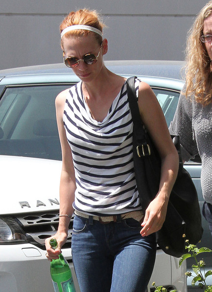 January Jones Leather Hobo Bag []