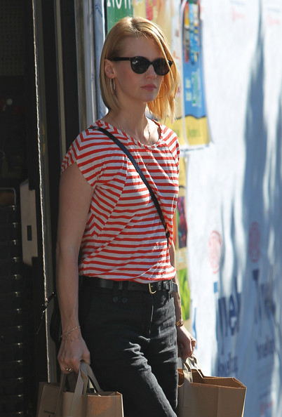 More Pics of January Jones T-Shirt (2 of 45) - January Jones Lookbook - StyleBistro