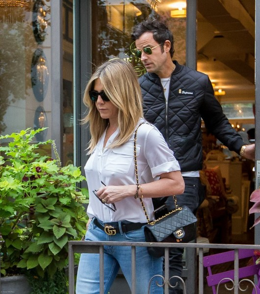 Jennifer Aniston Leather Belt