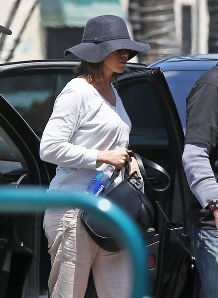 Jennifer Aniston Sun Hat