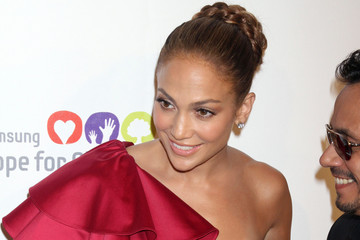 Jennifer Lopez Marc Anthony The Samsung Hope For Children Gala