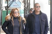 Jennifer Lopez  Snow Boots