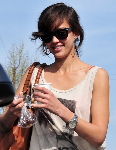 Jessica Alba Sterling Quartz Watch
