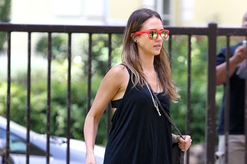 All About Aztec: Jessica Alba's Tribal Sandals