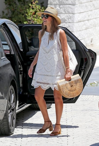 How Your Favorite Celebrities Wear White For Summer