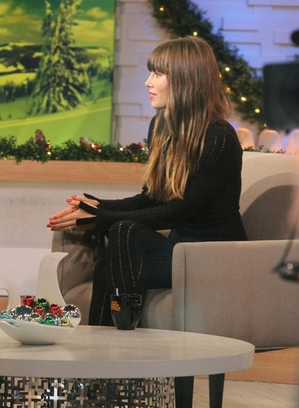 "Jessica Biel Stops By ""Good Morning America"""
