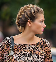 Check out Jessica's fierce french braid in NY!