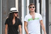 Ed Westwick & Jessica Szohr Photo