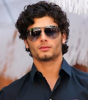 Jesus showed off his classic aviators while hitting the gala fashion brunch.