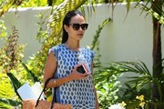 Jordana Brewster Canvas Shoes