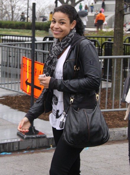 Jordin Sparks Leather Jacket