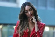 Jourdan Dunn Tuxedo Dress