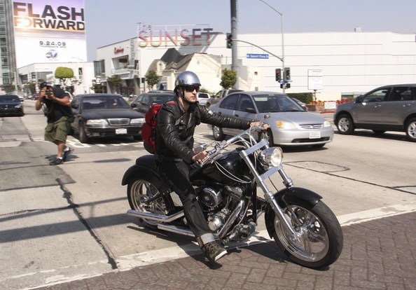 Like George Clooney and Brad Pitt, Justin Timberlake is a motorcycle enthusiast.