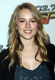 Bridgit Mendler was oh-so-pretty with her hair falling in soft waves.