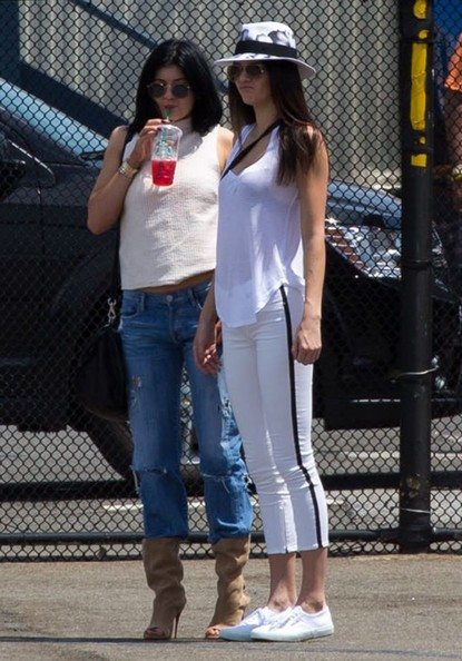 More Pics of Kylie Jenner Mid-Calf Boots (4 of 7) - Boots Lookbook - StyleBistro []