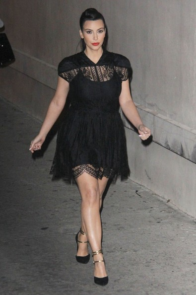 More Pics of Kim Kardashian Little Black Dress (3 of 3) - Dresses & Skirts Lookbook - StyleBistro