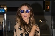 Kate Beckinsale Cateye Sunglasses