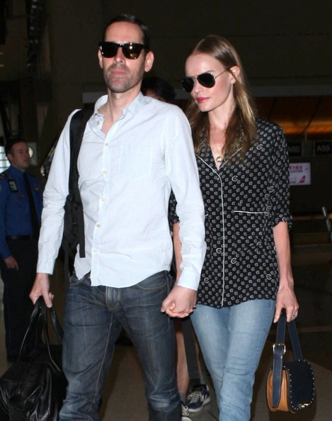 Kate Bosworth and Michael Polish Leave LA