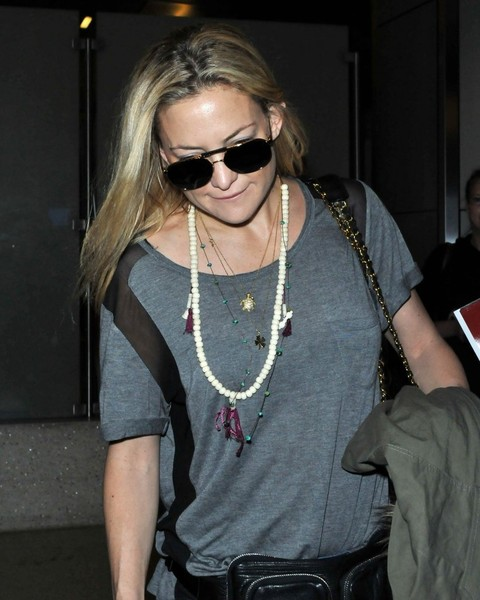 Kate Hudson Layered Beaded Necklace