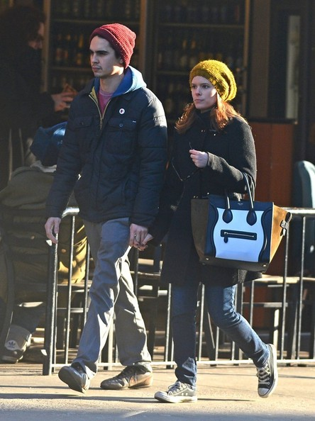 Kate Mara & Max Minghella Out And About In NYC