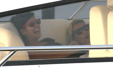 Kate Moss Lily Allen Kate Moss And Lily Allen Out In St. Tropez