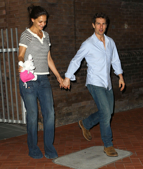 Katie Holmes Bootcut Jeans