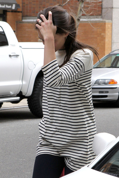 More Pics of Katie Holmes Boatneck Sweater (1 of 10) - Tops Lookbook - StyleBistro