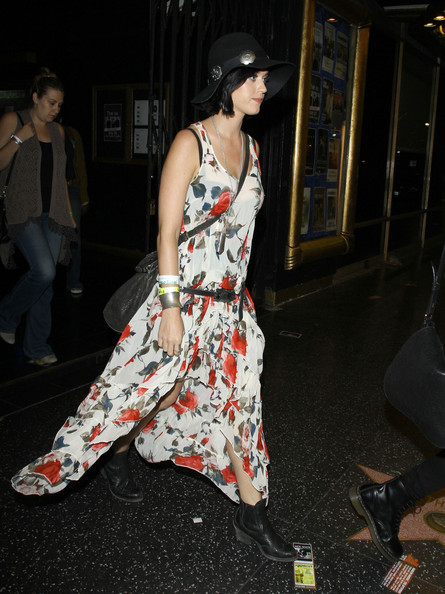 Katy Perry Print Dress []