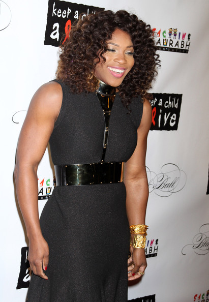 More Pics of Serena Williams Cutout Dress (1 of 3) - Serena Williams Lookbook - StyleBistro