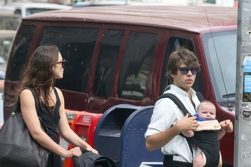 Keira Knightley James Righton Keira Knightley and Family Go For a Family Walk