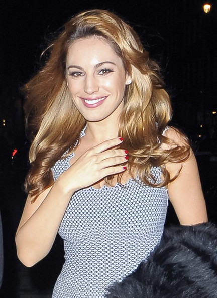 Kelly Brook Red Nail Polish