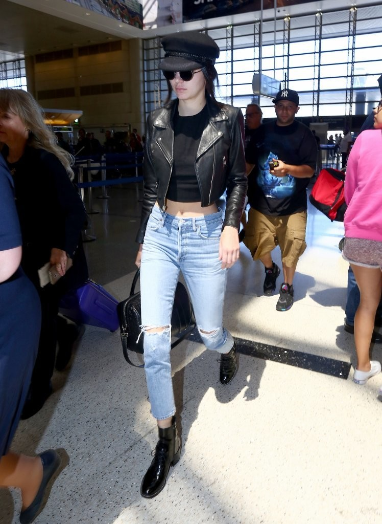 Kendall Jenner Lace Up Boots