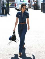 Kendall Jenner tapped into some serious 70's inspiration for this stylish all-denim look.