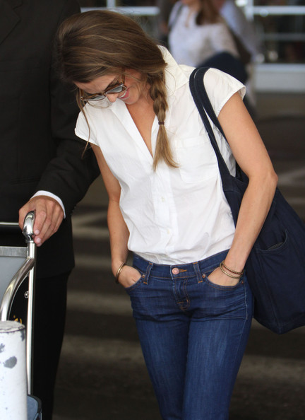 Keri Russell Button Down Shirt