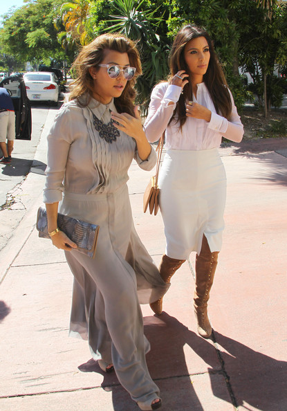 More Pics of Kim Kardashian Over the Knee Boots (38 of 41) - Kim